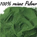 100% reines Chlorella Pulver, 500g Sparpackung - rückstandskontrolliert -