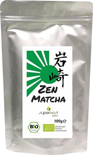 100g BIO Zen Matcha zum kochen und backen traditionell asiatischer Grüntee