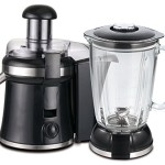 2in1 Glas Standmixer 800 Watt 1,5 L.Smoothie Maker Ice Crusher + Saftpresse Entsafter