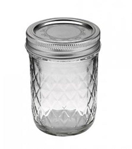 4 x Original Ball Mason Jar - Quilted 8 oz