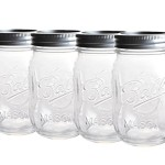 4 x Original Ball Mason Jar - ca. 0,5 ml