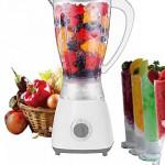 5 Stufen Standmixer 450 Watt Smoothie Maker Mixer 1,5 Liter Shaker