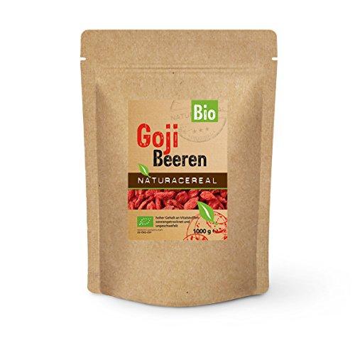 BIO Goji Beeren ungeschwefelt 500g - DE-ÖKO-39