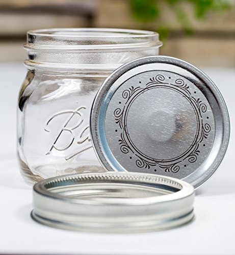 Ball -Collection Elite- Wide Mouth Jar 16oz/4er Set