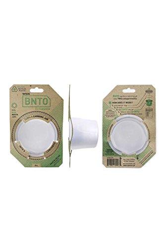 Ball Mason Glas | Wide 950 ml + BNTO Lunchbox SET (weiß)
