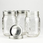 Ball Mason Jar 16oz Regular Mouth 3er/Set