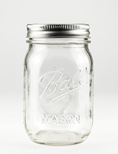 Ball Mason Jar 16oz Regular Mouth 6er/Set