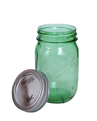 Ball Mason Jar Heritage Collection 16oz Grün 3er/Set