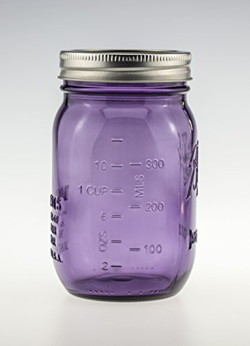 Ball Mason Jar Heritage Collection 16oz Lila 3er/Set