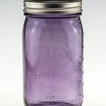 Ball Mason Jar Wide Mouth Heritage Collection 32oz Lila 3er/Set