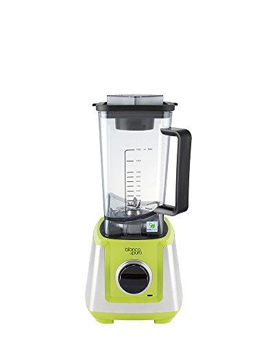 Bianco Primo Grün Mit dem neuen BIANCO primo erhalten Sie einen Hochleistungsmixer, der durch sein kompaktes Gehäuse in jeder Küche eine gute Figur macht. Der Mixbehält