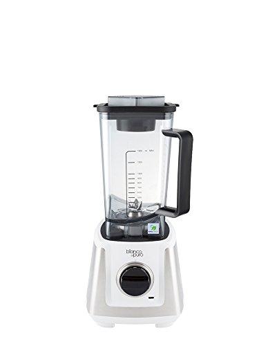Bianco Primo Weiß Mit dem neuen BIANCO primo erhalten Sie einen Hochleistungsmixer, der durch sein kompaktes Gehäuse in jeder Küche eine gute Figur macht. Der Mixbehält