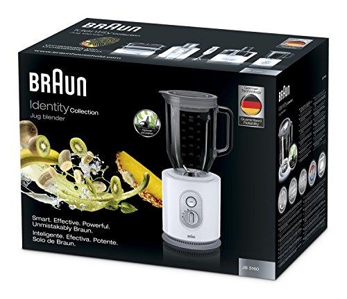 Braun JB 5160 Standmixer Identity Collection (1000 Watt) weiß