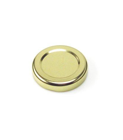 Cap+Cro - 30 Stück Saftflaschen 263 ml, Deckelfarbe: gold