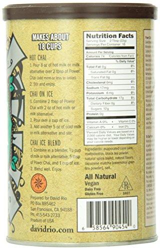David Rio Consumer - Power Chai, 1er Pack (1 x 398 g)
