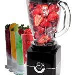 Glas Standmixer Smoothie Maker Mixer 500 Watt Ice Crusher Universalmixer 1,5 L