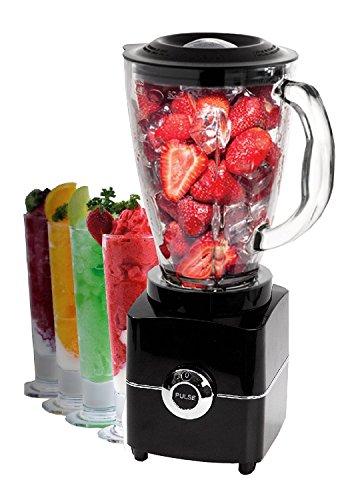 Glas Standmixer Smoothie Maker Mixer 500 Watt Ice Crusher Universalmixer 1,5 L