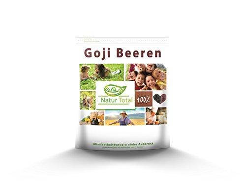 Goji Beeren Geprüfte Qualität naturbelassen 500g (DEUTSCHE ANALYSE)