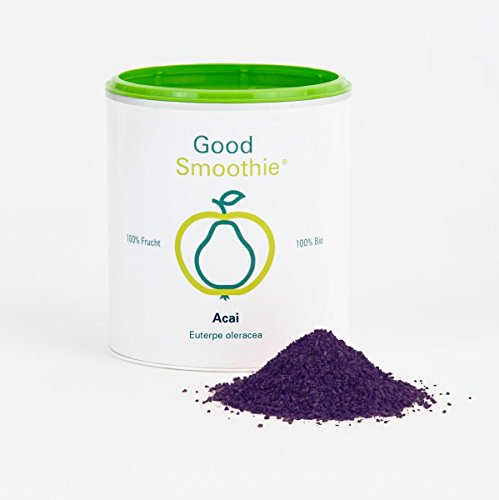 Good Smoothie 100 % Bio-Acaipulver 125 g - gefriergetrocknet