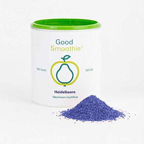 Good Smoothie 100 % Bio-Heidelbeerpulver 200 g - gefriergetrocknet