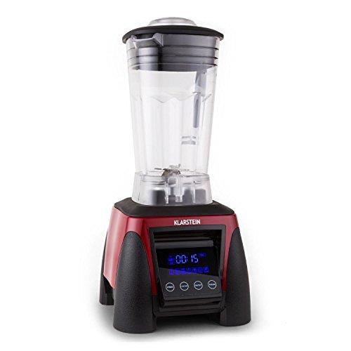 Klarstein Herakles-8G-R Profi Standmixer Power Mixer Smoothie Shake Maker (1800W Küchenmixer ,2 Liter, BPA-frei, 38.000 Umdrehungen pro Minute) rot