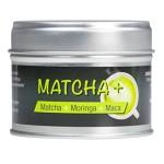 Matcha+ : Matcha Tee Moringa Maca.Trink Dich Fit und Schlank! Zur Unterstützung Ihrer Diät. Original Matcha Tee gemixt mit Moringa und Maca.