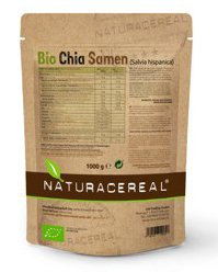 NATURACEREAL BIO Chia Samen (1 x 1kg) - In Deutschland geprüfte Qualität
