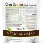 Naturacereal Premium Chia Samen weiß, in Deutschland geprüfte Qualität (1 x 1 kg)