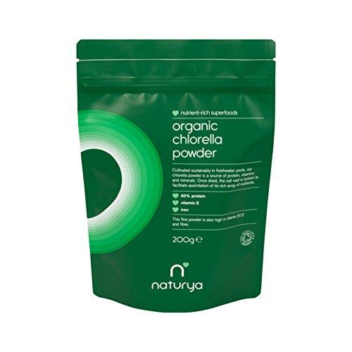 Naturya BIO Chlorella Pulver, 1er Pack (1 x 200 g) - Bio