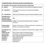 Raab Vital Food: Acai Pulver Bio (80 g)