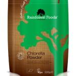 Rainforest Foods Organisches Chlorella-Pulver (Beutel), 1er Pack (1 x 200 g) - Bio