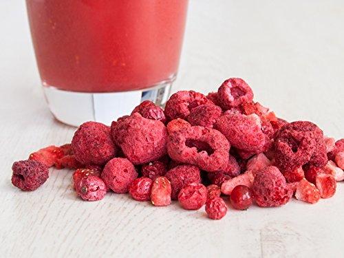 """""""Rote-Beeren-Mix"""" - Smoothie-Früchte - 25g gefriergetrocknete Johannisbeeren, Himbeeren, Erdbeeren"""