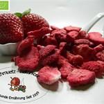 Schmütz-Naturkost Gefriergetrocknete bio Erdbeerscheiben 100g