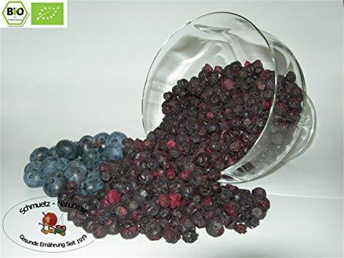Schmütz-Naturkost Gefriergetrocknete bio Heidelbeeren (Blaubeeren) 100g