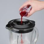 Severin SM 3718 Standmixer 1.5 L Glas-Mixbehälter, edelstahl-gebürstet-schwarz