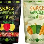 Snack Garden Gefriergetrocknet Tropische Fruchtmischung (4x32g) und Snack Garden Vakuum frittierte knusprige Gemüsemischung (6x 40g) - 10 Packungen