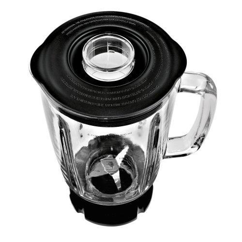 WMF KULT X Standmixer 1,5 l, 800 W, 4-flügliges Edelstahlmesser, Glaskrug, Pulsstufe, cromargan matt/silber