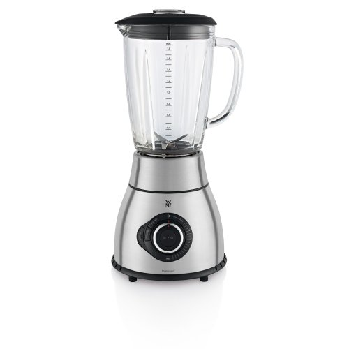 WMF KULT pro Power Standmixer, 1400 W, 24.000 U/min, 1,8 l, Smoothie, Ice Crush, cromargan matt/silber