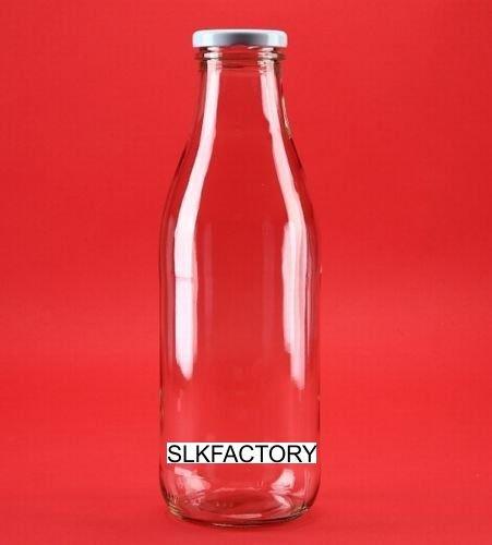 10 leere Glasflaschen 500ml MIL Saftflaschen VINTAGE STYLE Weithals-Flaschen Einmachglas Essig- Öl Flasche Likörflaschen Schnapsflaschen MILCHFLASCHEN 0,5 Liter l von slkfactory