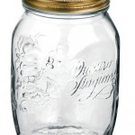 6er Set Einmachglas Original Quattro Stagioni 0,5L incl. Bormioli Rezeptheft