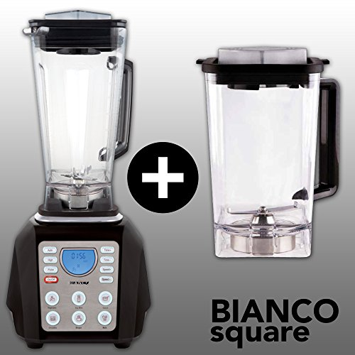BIANCO forte (Schwarz / Black) + BIANCO square + Buch