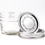 Ball Mason Quilted Crystal Jelly Jar 4oz/3er Set