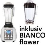 Bianco Puro 1 weiß + Trockenbehälter - Die Spitzenklasse unter den Profimixern !