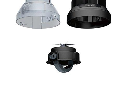 Bosch MMB43G2B Standmixer Silentmixx (700 W, ThermoSafe Glas, Edelstahl-Messer) schwarz