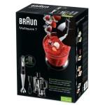 Braun MQ 745 Aperitive 7 Stabmixer (0,6 L, 750 Watt, Multiquick) schwarz