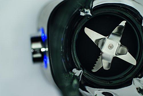 CASO B1000  Design Sandmixer, verwendar als Smoothie Maker, Blender, Standmixer, Suppenbereiter, Ice Crusher, 1,5 Liter großer Glaskrug Aufsatz und Edelstahlmessern/ 1000 Watt Leistung, manuelle Geschwindigkeits-Einstellung, bis zu 16.000 Umdrehungen/ Minute