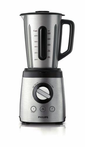 HR2097/00 Philips - Avance Collection Standmixer 800 W, Edelstahl Kanne 2L mit Löffel, Funktion: cru