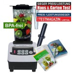 JTC OmniBlend V - Special Edition - 5 Jahre Garantie - versandkostenfrei - 1,5 Liter BPA-frei (weiß)
