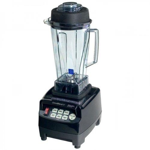 JTC Omniblend Standmixer Schwarz, Hochleistungsmixer, Blender 2,0 L, 38.000 U/min, BPA Frei