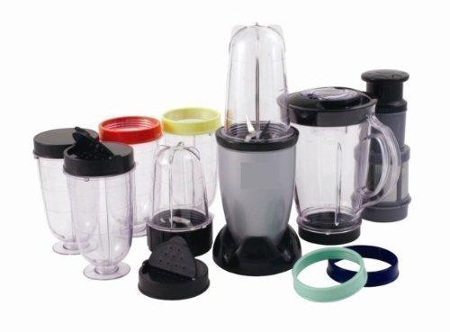 Mehrzweck Küchenmaschine 17 Teile - Smoothie Mischer, Mixer, Entsafter, Mahlen